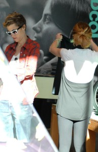 Lindsay Lohan with Samantha Ronson